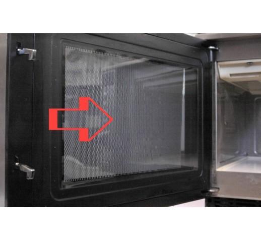 microwave door frame